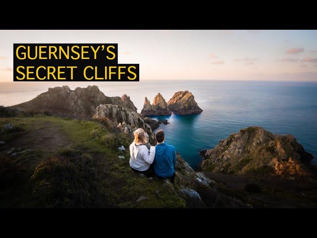 GUERNSEY'S SECRET CLIFFS | Pea Stacks Sunrise