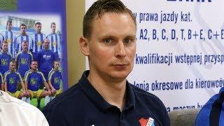 Szkoleniowiec Mazovii Andrzej Sieradzki o meczu Koroną