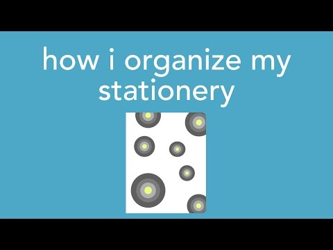 how i organize my stationery / planner supplies [+GIVEAWAY]