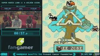 Super Mario Land 2: 6 Golden Coins by slashinfty in 27:38 AGDQ 2018