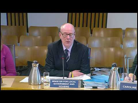 Local Government and Communities Committee - Scottish Parliament: 10th May 2017