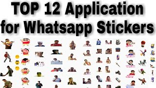 TOP 12 Stickers App For WhatsApp Best Forever