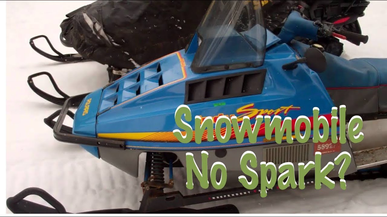 medium resolution of polaris snowmobile no spark or weak spark 1985 1995
