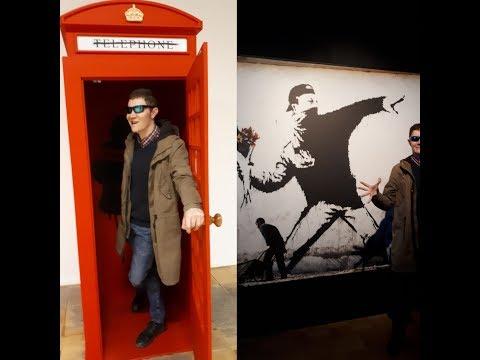 Выставка Banksy в Москве