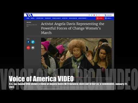 Watch Voice of America Video of American Communist Angela Davis