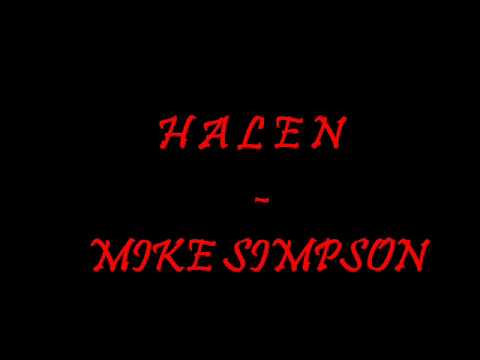 Halen-  Mike Simpson (stick it soundtrack)