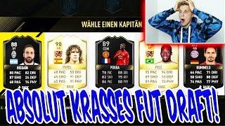 FIFA 17: ABSOLUT KRANKES FUT DRAFT!! 2 LEGENDEN + ONES TO WATCH! - ULTIMATE TEAM (DEUTSCH)