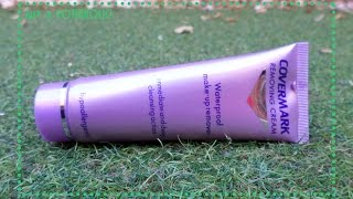 Demo - Removing Cream (Covermark) | Just a Potiaholic!