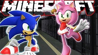 Sonic & Amy in *JAiL* | Minecraft