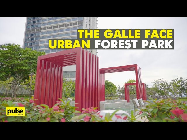 The Galle Face Urban Forest Park