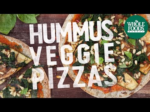 Hummus Veggie Pizza | Recipes | Whole Food Markets