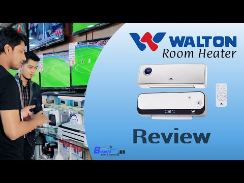 Room heater review |Walton product