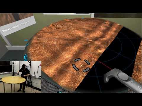 Mixed Reality Subsea Mine Detection Workstation Demonstrator