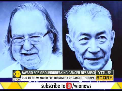 WION Your Story: James P. Allison and Tasuku Honjo win Nobel for cancer research