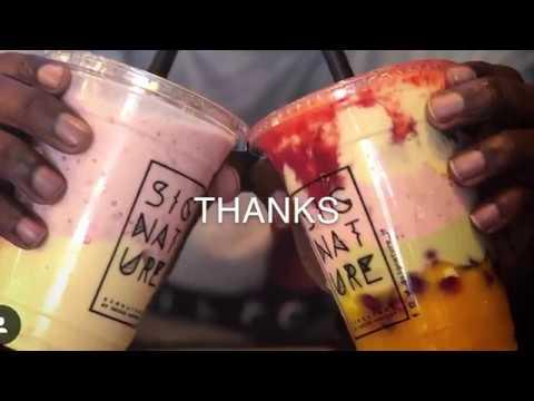 أخيرا عصيرات سيجنتشر Signature في جدة طهموج Youtube