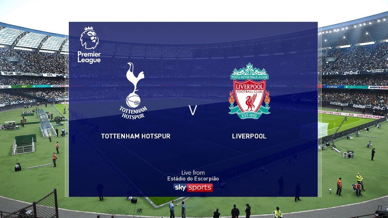 Tottenham Vs Liverpool Premier League 2020 Gameplay Youtube
