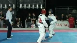 European Taekwondo Championships 2008 Rome Female -55 kg Italy vs Croatia Round 2
