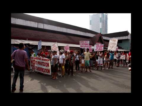 San Andres Malate Market Holiday Strike