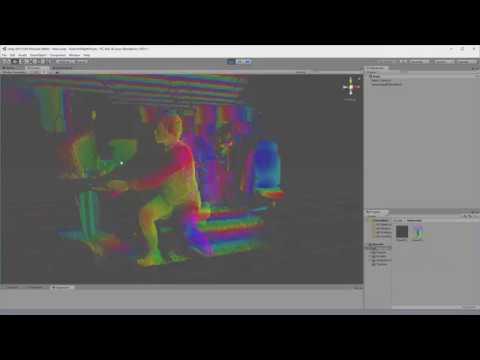 Kinect v2 Point Cloud on Unity 2017 3