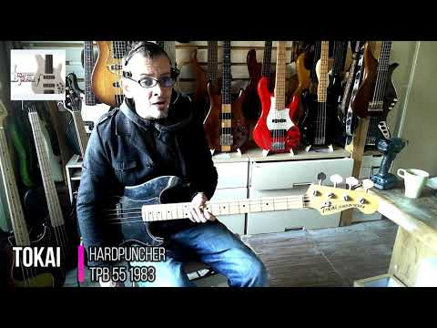 Tokai Hard Puncher 1980 - 70s Fender Precision Bass Replic from YouTube · Duration:  1 minutes 26 seconds