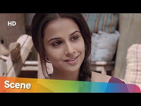 Naseeruddin Shah Flirts With Vidya Balan (HD) - Ishqiya Scene - Arshad Warsi - Superhit Hindi Movie