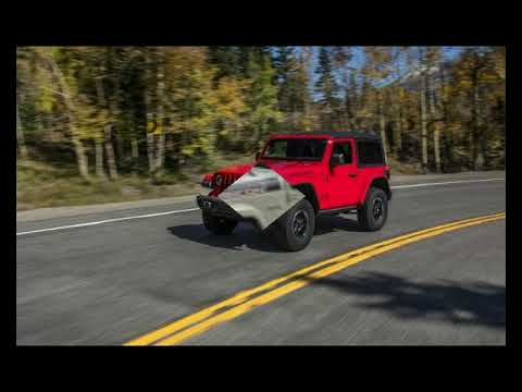 First Drive Review 2018 Jeep Wrangler