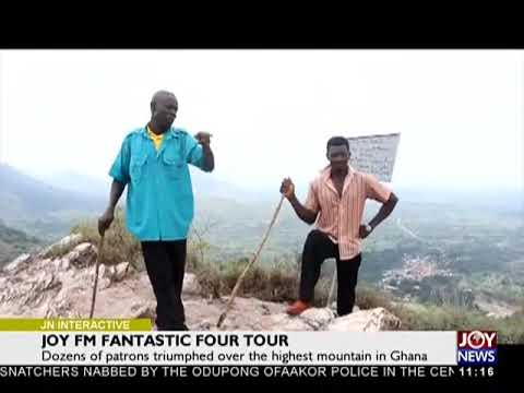 Joy FM Fantastic Four Tour - Joy News Interactive (19-3-18)