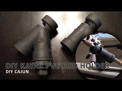 A Cheap PVC Kayak Rod Holder