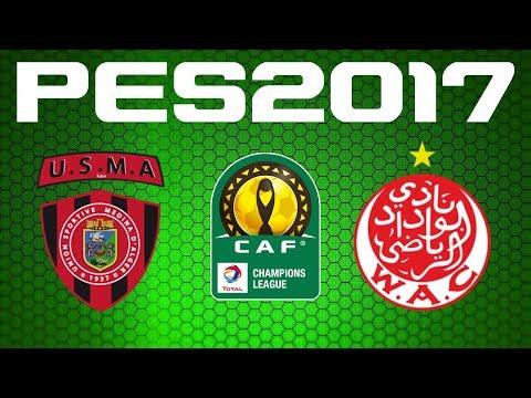 PES 2017 - CAF Champions League - Semi-final - USM ALGER vs WYDAD