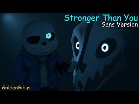 [SFM/UT] Stronger Than You (Sans version) | Song by DJsmell
