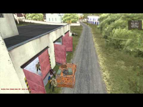 Armored car in DayZ