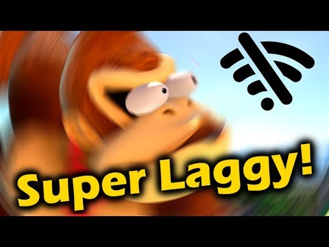 Making The Most Lag Possible In Super Smash Bros Ultimate thumbnail