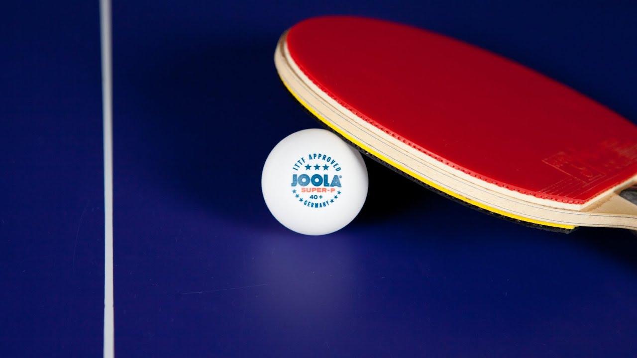 JOOLA Update New 3 Star Super P Plastic Table Tennis Balls