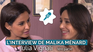 [Interview Malika Ménard] Julia Vignali assume son decolleté XXL !
