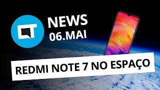 Redmi Note 7 tira foto da Terra; Apple processada; Youtuber preso e + [CT News]