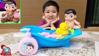 น้องบีม | รีวิวของเล่น EP159 | ต้นกล้าเล่นน้ำกับเป็ดน้อย Toys