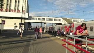 ...Как объявляют поезда на вокзале во Владимире (май, 2016)