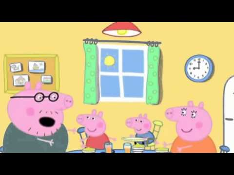 peppa pig en español jugando con plastilina