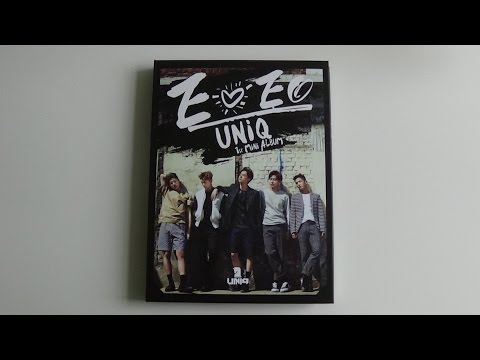 Unboxing UNIQ 유니크 1st Mini Album EOEO