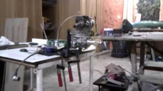 RC konverze motoru z křovinořezu