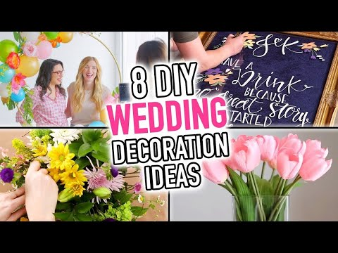 8 DIY Wedding Decoration Ideas - HGTV Handmade