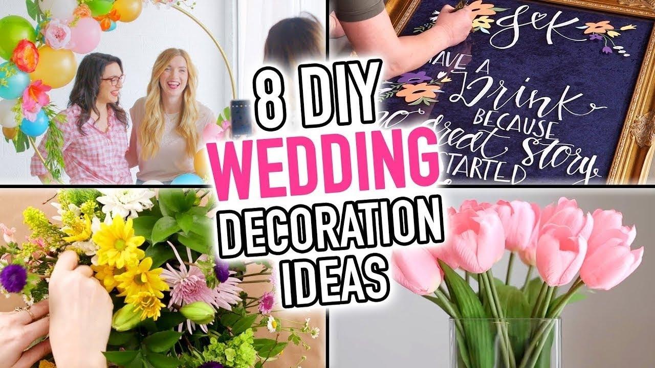 also diy wedding decoration ideas hgtv handmade rh youtube