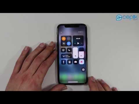 iPhone X Ekran Görüntüsü Nasıl Alınır?  Ekran Videosu Nasıl Kaydedilir?