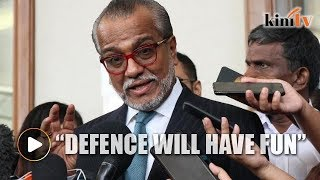 Shafee going to 'have fun' with 'foolish charges' against Najib