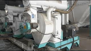 펠렛성형기 (우드펠렛생산공장-시간당5톤)