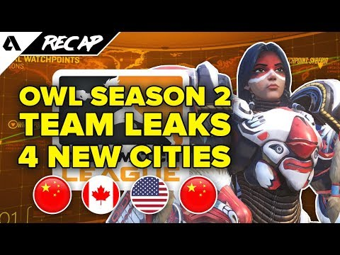 New Overwatch League Season 2 Team Leak: Vancouver, Washington DC, Hangzhou & Chengdu | Akshon Recap thumbnail