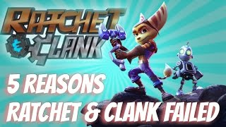 5 Reasons That Ratchet and Clank ( The Movie ) Failed