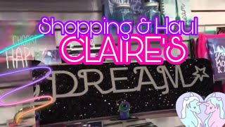 Claire's Shopping and Claire's Haul 2020