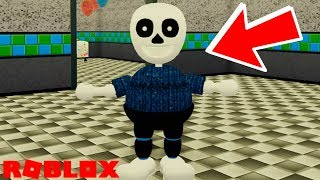 How to Find The Credits Room Badge and Become Sans in Roblox FNAF 2 The New and Improved Pizzeria
