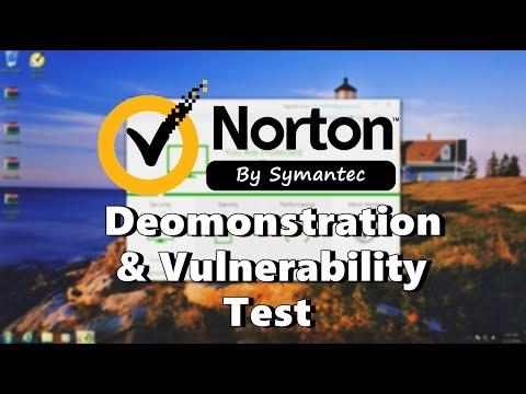 Norton Security 2018 | Demonstration | A-V Test #23